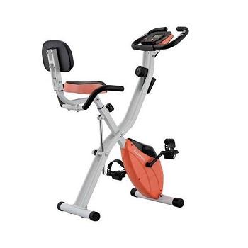 Harvil Foldable Magnetic Stationary Exercise Bike