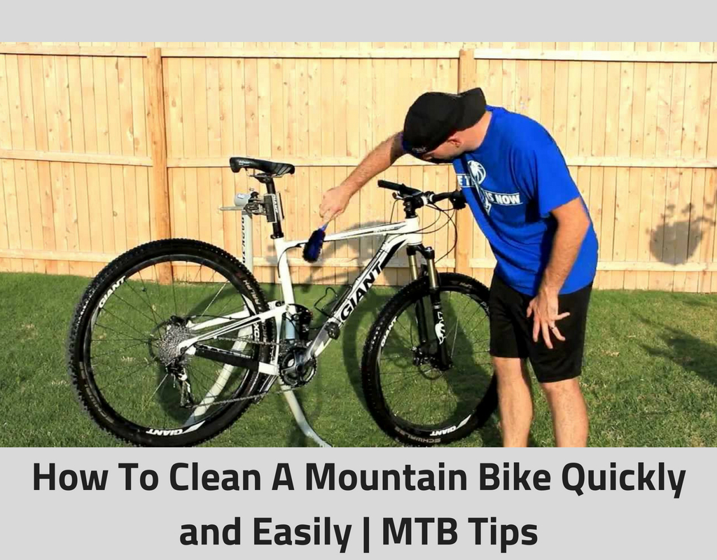 How To Clean A Mountain Bike Quickly and Easily _ MTB Tips