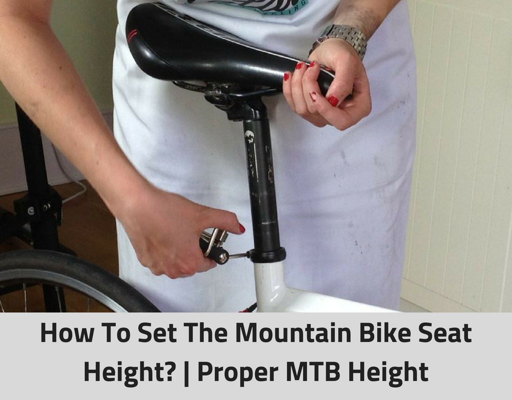 How To Set The Mountain Bike Seat Height_ _ Proper MTB Height