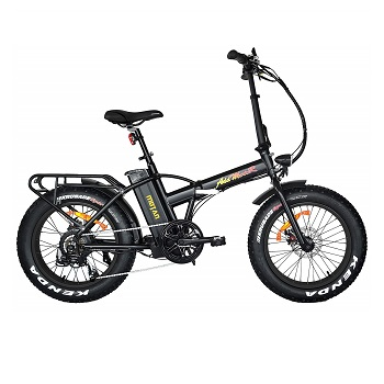 Addmotor Motan Electric Fat Tire 20Inch Bikes 500w 48v Snow Folding Bicycles