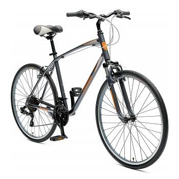 Critical Cycles Men's Barron Hybrid 21 Speed Bike