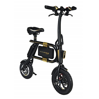SWAGTRON SwagCycle Folding-Electric-Bicycle
