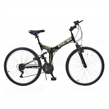 Stowabike 26″ MTB V2 Folding 18 Speed Shimano Gears Mountain Bike